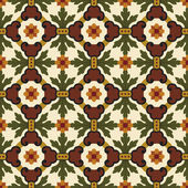 Classic vintage seamless pattern in editable vector file