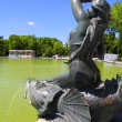 thumbnail of Madrid Sirena sobre Pez mermaid statue in Retiro