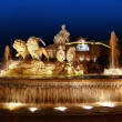 thumbnail of Cibeles night statue in Madrid Paseo Castellana