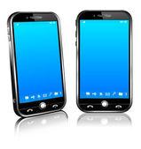 Smart Mobile Handy 3d und 2d
