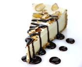 Bílý čokoládový cheesecake