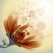 Abstraktní květina