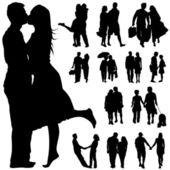 Set of couple