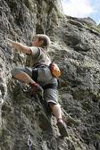 A rock mászó