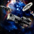 thumbnail of Spaceships at war