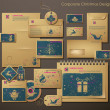 thumbnail of Corporate Christmas Design with Christmas Symbols