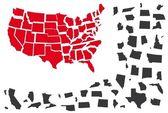 USA Térkép puzzle