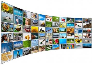 Screens multimedia panel