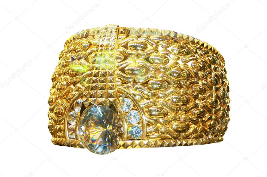 Biggest gold ring in the world — Stock © Observer