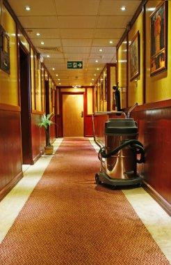 Corridor of the Hotel
