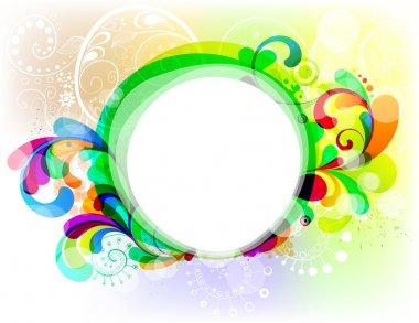 Festive frame design
