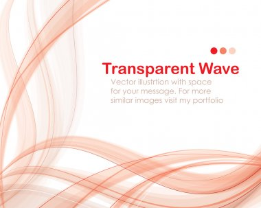 Transparent wave bg deluxe
