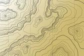 abstraktní topografická mapa