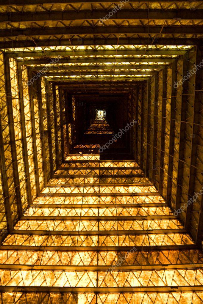 lintrieur de la pyramide photo