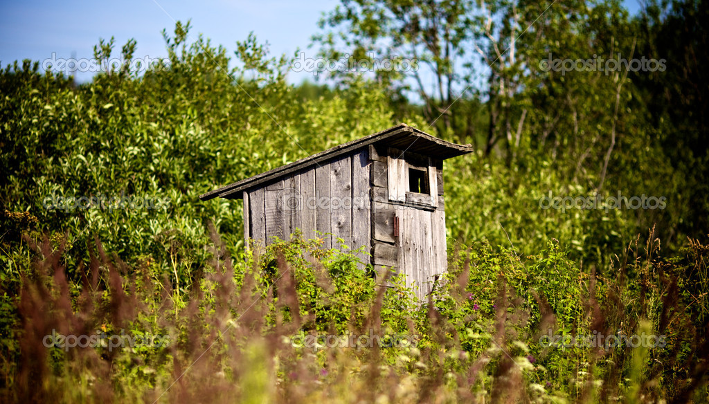 Old Outhouse Waiting For You