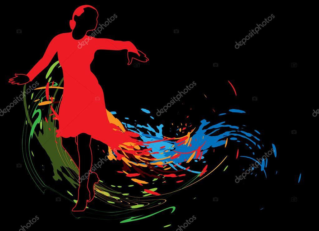 Скачать танцующую девушку на компьютер
