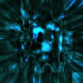 Abstrakte Kristalle der Finsternis