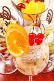 Fotografie leckere desserts