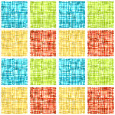 Fabric seamless background for your design