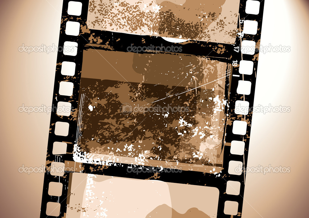 Grunge Camera Vector : Grunge film pattern u stock vector ladyann