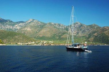 Sailing in Greece, exploring islands
