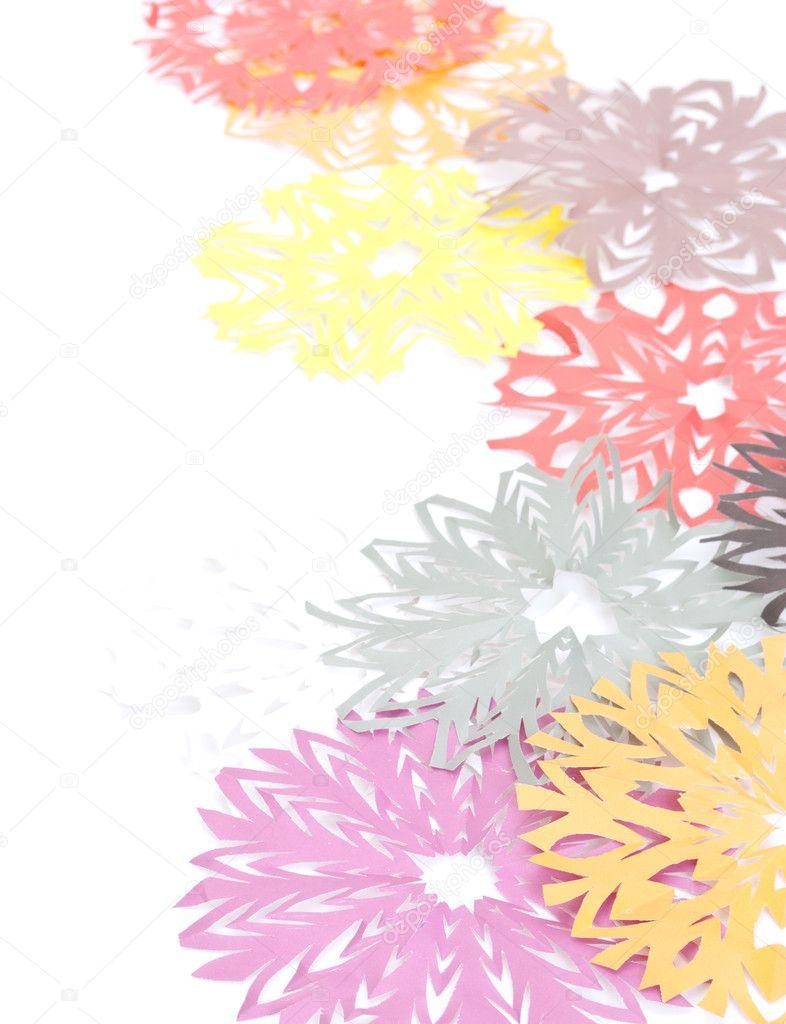 Origami Snowflakes Stock Photo Djemphoto 7447598