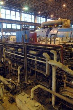 buhar türbini, makine, elektrik santrali tüpler