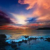 óceán naplemente