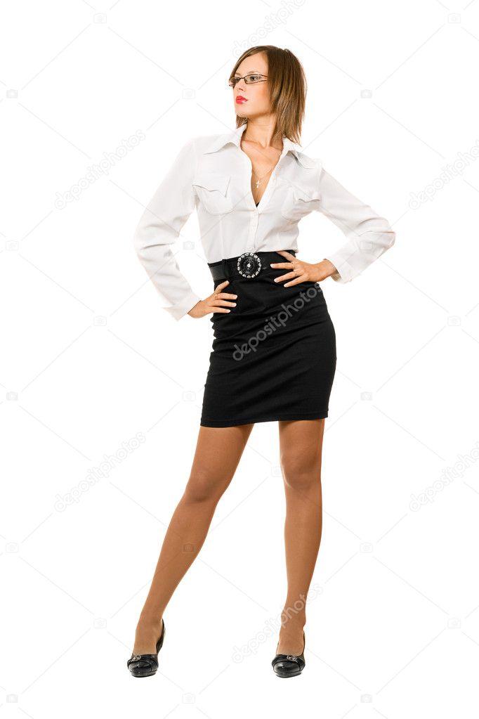 секс фото девки юбка карандаш и блузка туфли