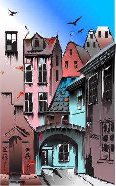 Medieval European city