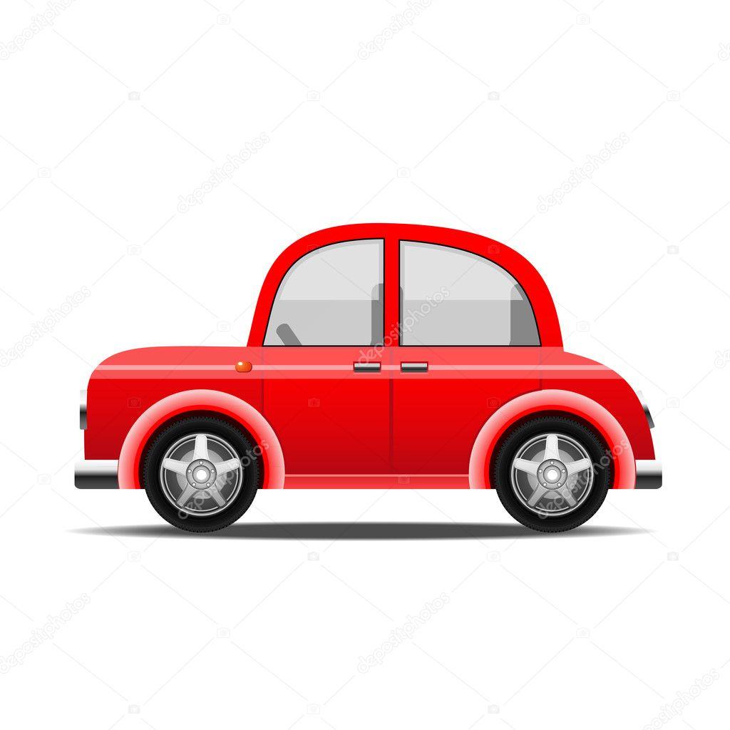 red car vector stock vector ottoshtekker 6958508. Black Bedroom Furniture Sets. Home Design Ideas