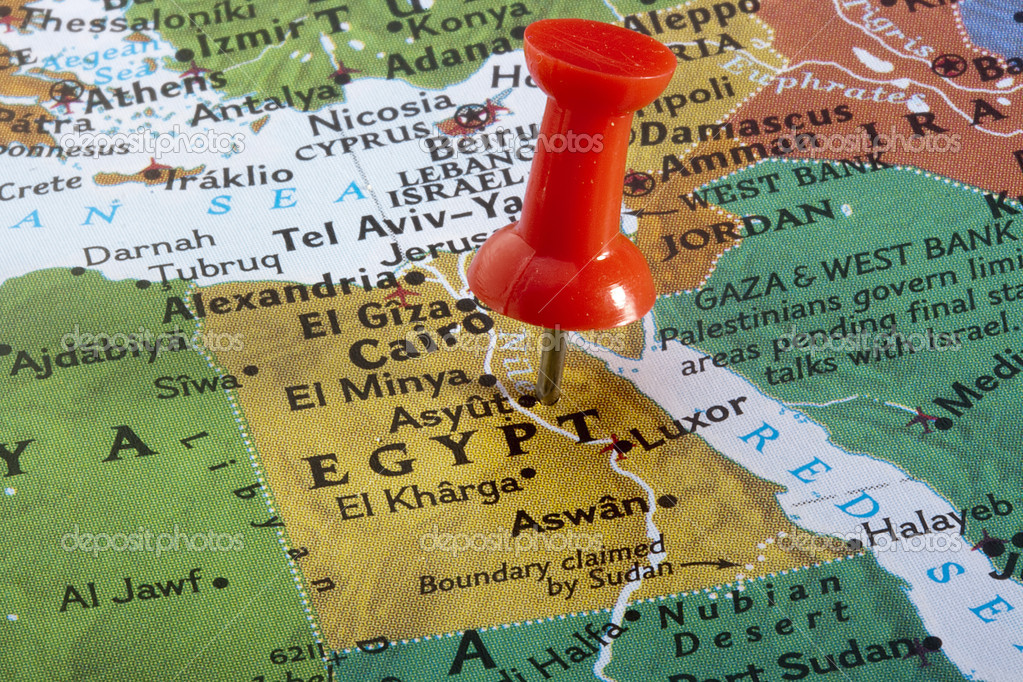Map of egypt stock photo vipdesignusa 6748180 country of egypt pinned on a world map photo by vipdesignusa gumiabroncs Choice Image