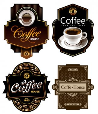 Three coffee design templates