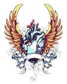 Anatómiai szív Wings