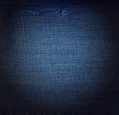 Used denim jeans