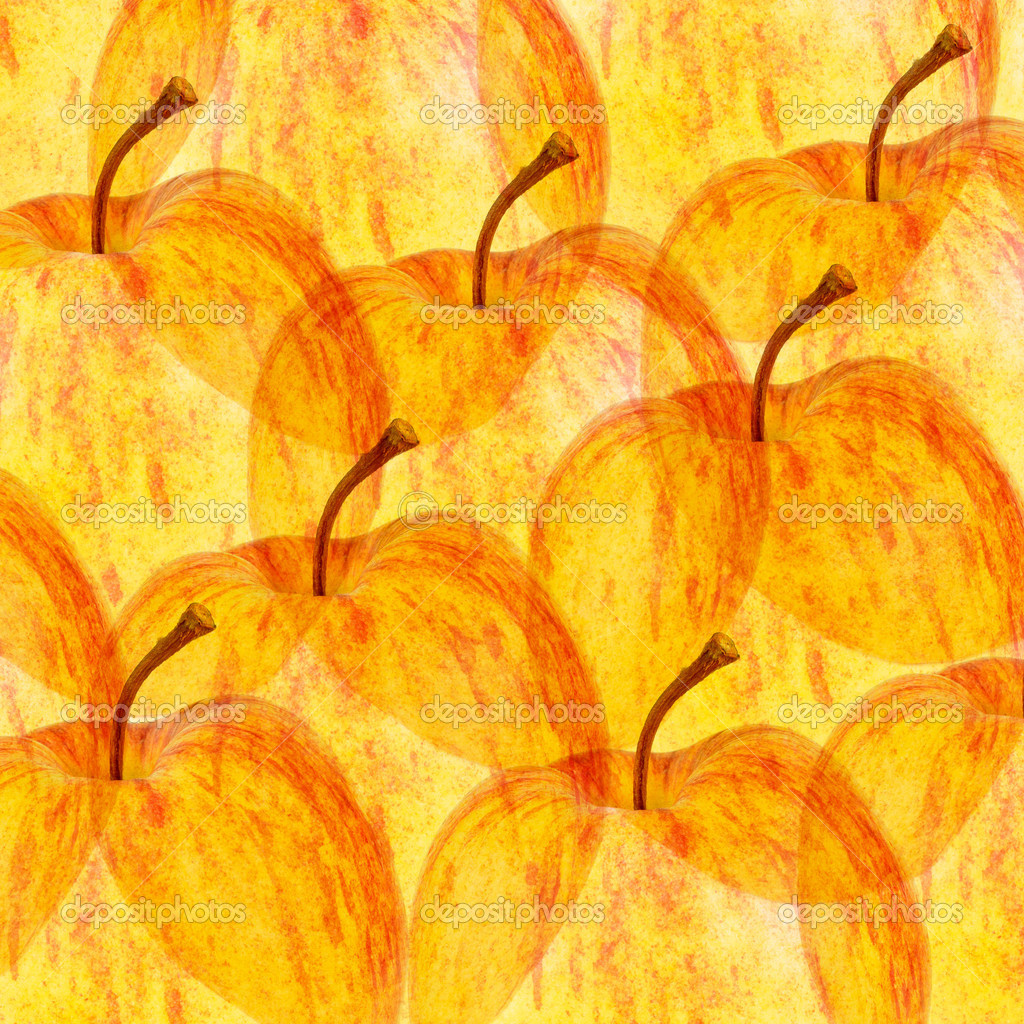 Autumn Apples Background