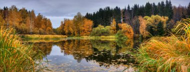 Autumn Lake Panoramic
