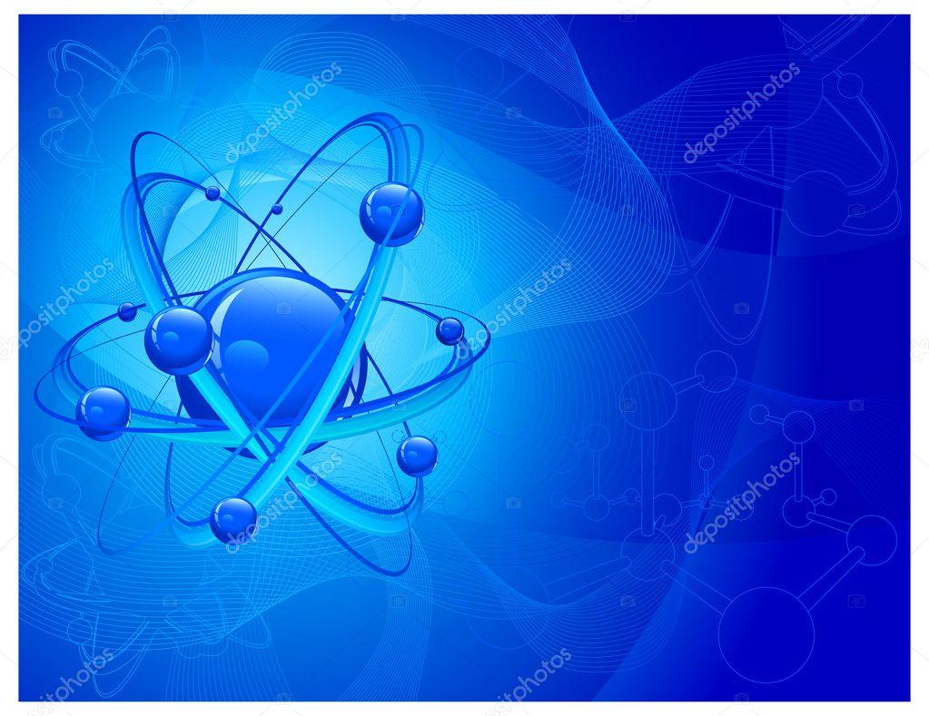 Sfondo molecolare atomo vettoriali stock creator76 for Sfondi chimica