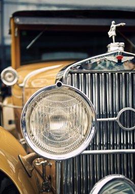 A view of retro car