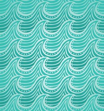 Water seamless pattern