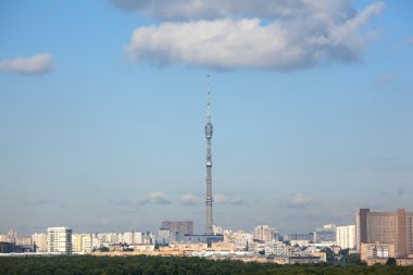 Ostankino tower in moscow