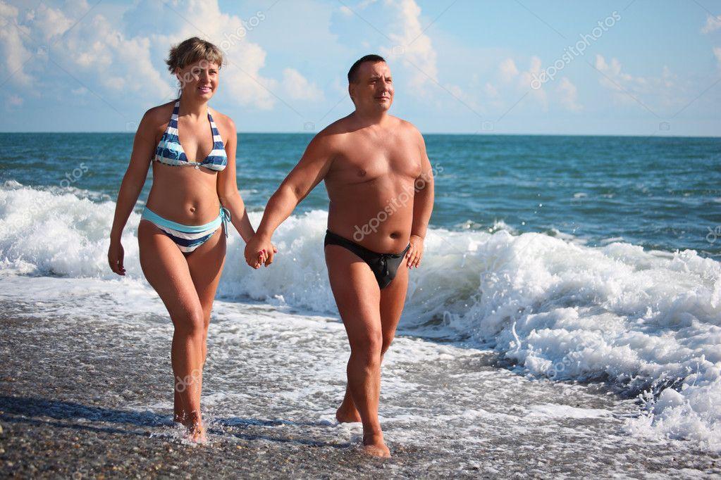 нудисты фото муж и жена