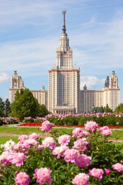 The Moscow State University of a name of Lomonosov. Vertical for