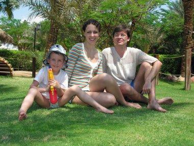 Family grass palm