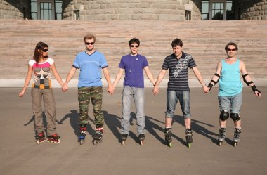 Group of rollers