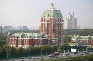 Building in Moscow