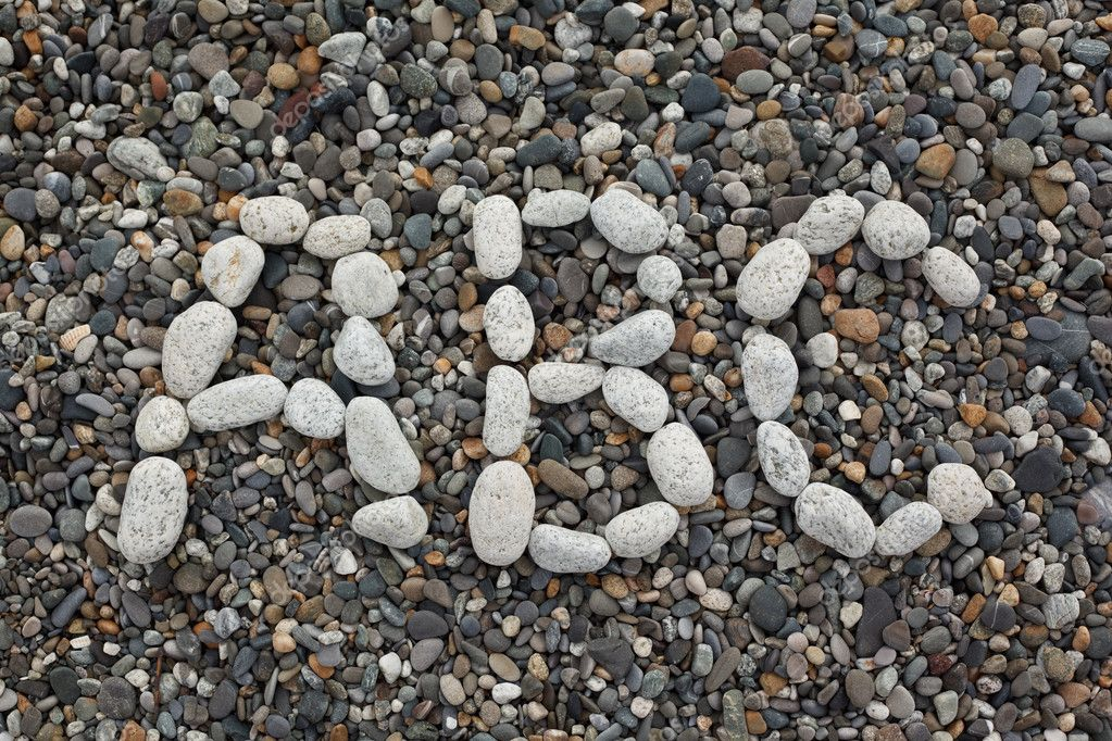 Combination of pebbles