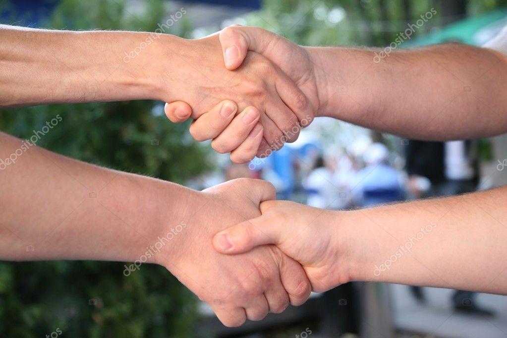 Double handshake