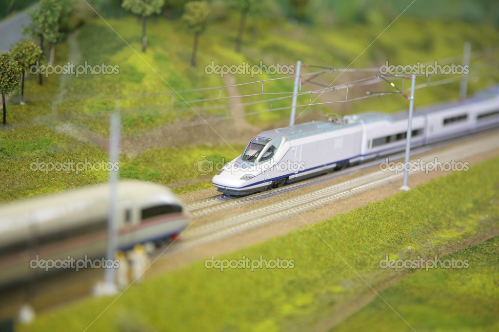 Model of railroad