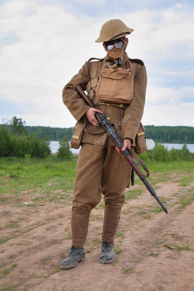 Soldier on WW1